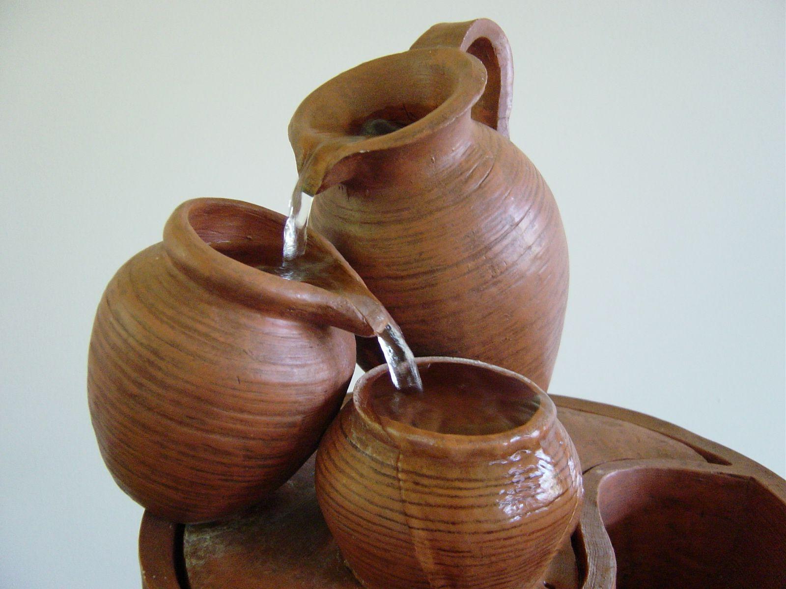 Eres una simple vasija con un gran tesoro avanza por m s for Faroles de barro para jardin