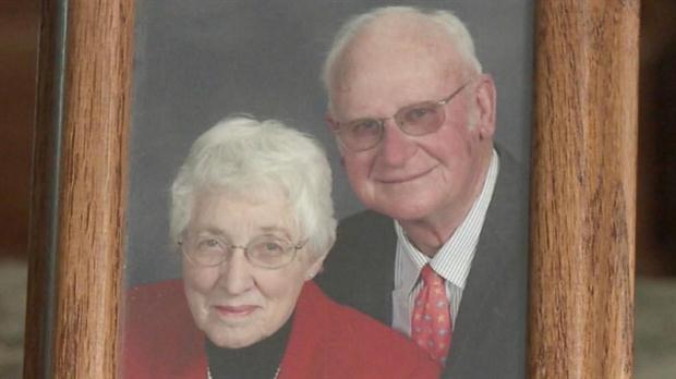 Jeanette y Henry De Lange, juntos en épocas de felicidad. Foto: ABC News