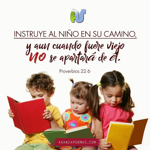 imagenes con frases cristianas para niños