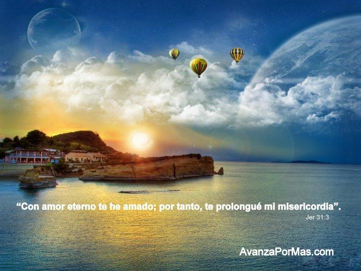 Imagen Con Amor Eterno Te He Amado Por Tanto Imágenes Con Versículos
