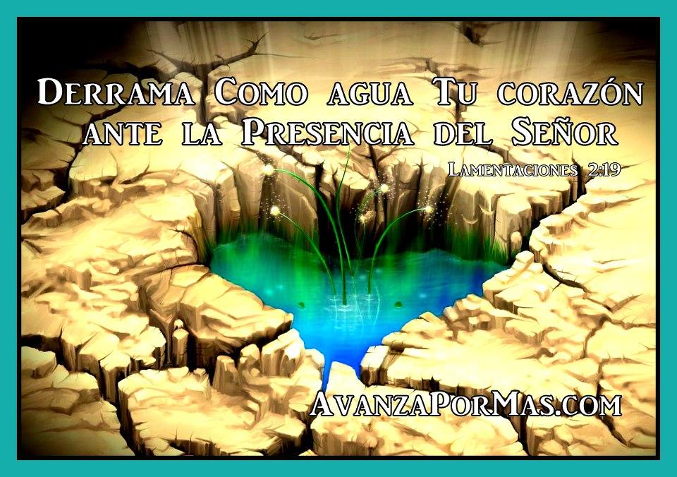 Imagen Derrama Como Agua Tu Corazón Ante La Presencia Del