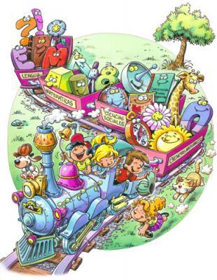 tren niños