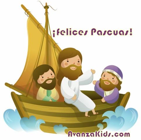 tarjetas niños cristianos jesus