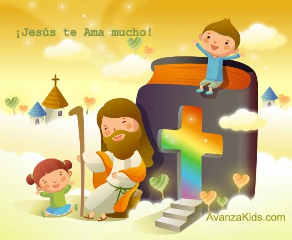 PEQUES Y PECAS...: TARJETAS MENSAJES DE JESÚS.
