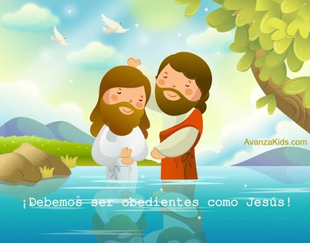 bautismo jesus niños