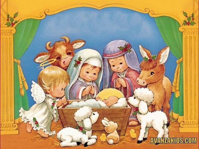 43 postales cristianas de navidad para chicos en avanza kids - Tarjetas navidenas cristianas ...